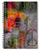 Intuitional Abstract Spiral Notebook