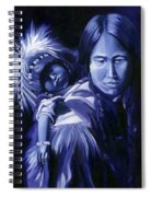 Inuit Mother And Child Spiral Notebook