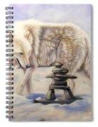 Inuksuk Spiral Notebook