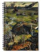 Invasion Scene Spiral Notebook