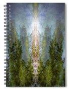 Radiance Rising Spiral Notebook