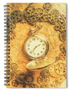 Invention Of Time Spiral Notebook