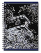 Inversion Art Work Spiral Notebook