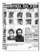 Investigator's Copy - Ted Bundy Wanted Document  1978 Spiral Notebook