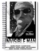 Invisible Man Movie Poster 1933 Spiral Notebook