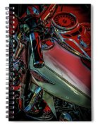 Invitation To Ride 1492 H_2 Spiral Notebook