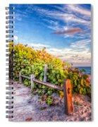 Inviting Path Spiral Notebook