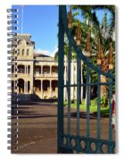 'iolani Palace Spiral Notebook