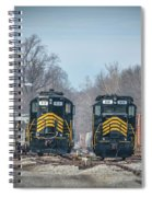 ioneer Lines PREX 912 and 806 at Evansville Indiana Spiral Notebook