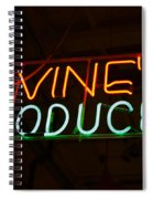 Iovines Produce Spiral Notebook