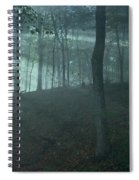 Iowa Fog Rays Spiral Notebook