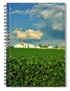 Iowa Soybean Farm Spiral Notebook