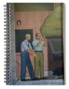 Iowa State Mural - 2 Spiral Notebook