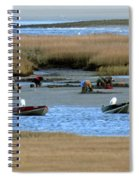 Ipswich River Clammers 2 Spiral Notebook