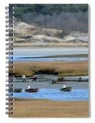 Ipswich River Clammers Spiral Notebook