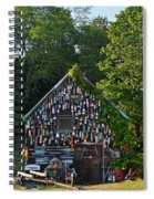 Ipswich Bay Wooden Buoy Gloucester Ma Spiral Notebook