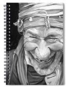 Iranian Man Spiral Notebook