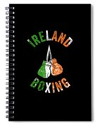 Ireland Boxing Color Light Boxers Irish Cool Gift Funny Flag Spiral Notebook
