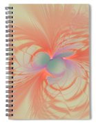 Iridescent Pink Spiral Notebook