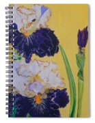Iris Afternoon Delight Spiral Notebook