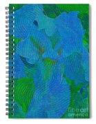 Iris Ageless Blossom  Spiral Notebook