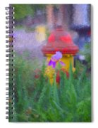 Iris And Fire Plug Spiral Notebook