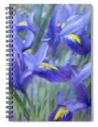 Iris Bouquet Spiral Notebook