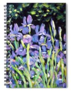 Iris En Folie Spiral Notebook