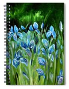 Iris Galore Spiral Notebook