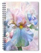 Iris - Goddess Of Serenity Spiral Notebook