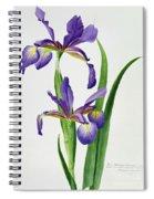 Iris Monspur Spiral Notebook