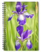 Iris Pair Spiral Notebook