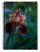 Iris Passion Spiral Notebook