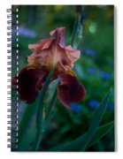 Iris Passion Spiral Notebook