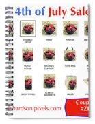 Iris Richardson Fine Art Product Line Spiral Notebook