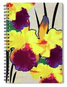 Iris Shadow Spiral Notebook