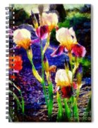 Iris Song Spiral Notebook