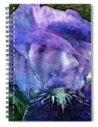Iris With Buds 9821 Idp_2 Spiral Notebook