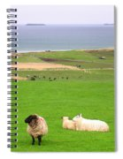 Irish Coast Spiral Notebook