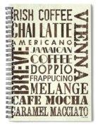 Irish Coffee Spiral Notebook
