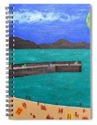 Irish Landscape 13 Spiral Notebook