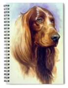 Irish Setter Spiral Notebook
