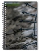 Iron And Rocks Spiral Notebook