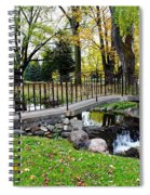 Iron And Stone Spiral Notebook