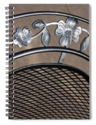 Iron Art Work Spiral Notebook
