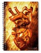 Iron Arteries  Spiral Notebook