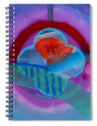 Iron Butterfly Spiral Notebook