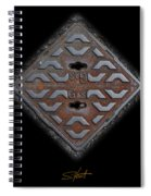 Iron Diamond Spiral Notebook