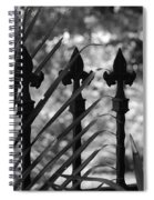 Iron Fence Spiral Notebook