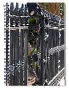 Iron Fence Spiral Notebook